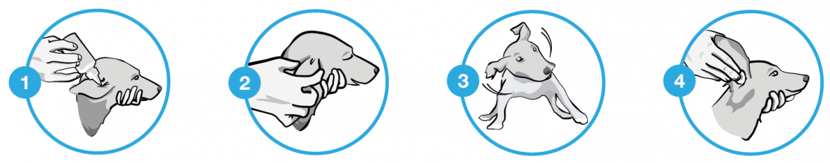 Toediening Sonotix - Oorreiniger voor hond en kat